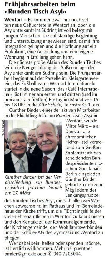GB im Der Reinbeker 10.04.2017