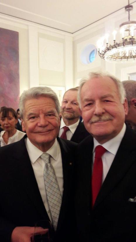 Günter Binder bei Gauck-Verabschiedung 23.03.2017