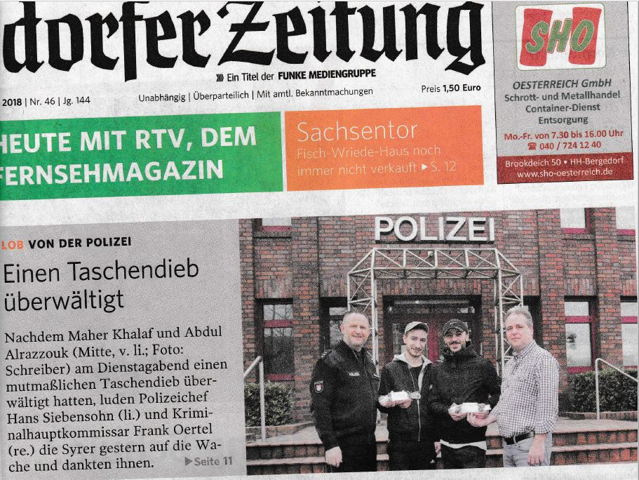 Bergedorfer Zeitung # 46, 2018